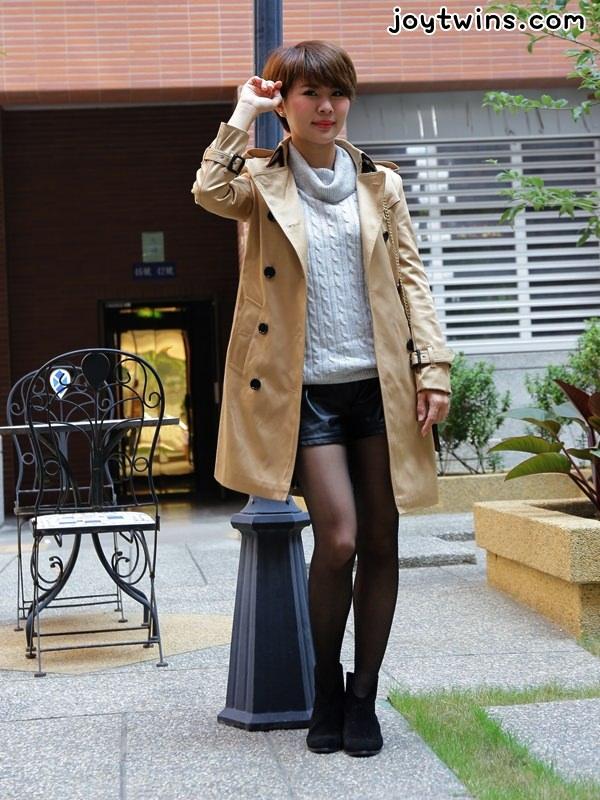 [穿搭]就是愛敗家X超質感風衣~絕對值得入手的歐美大牌風超質感雙排釦軍裝大衣~