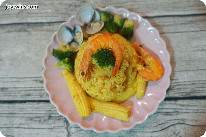 一鍋到底番茄海鮮薑黃燉飯 (13)
