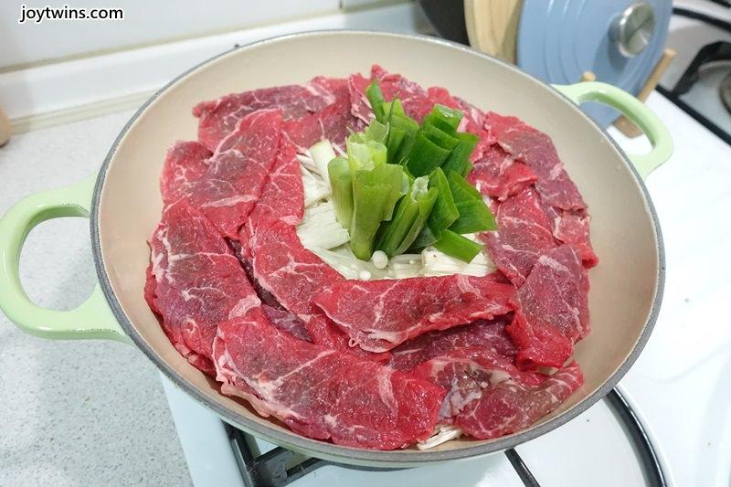 蔥段牛肉鍋 (7)