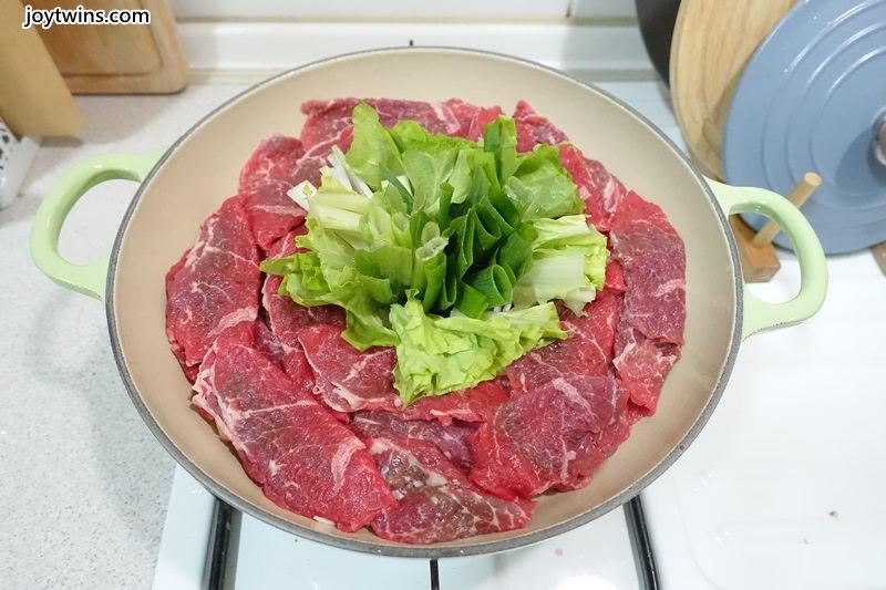 蔥段牛肉鍋 (8)
