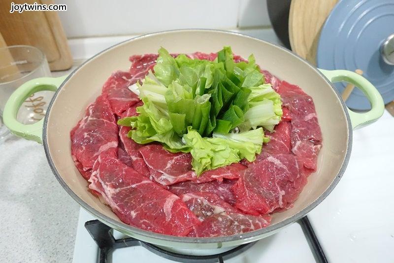 蔥段牛肉鍋 (10)