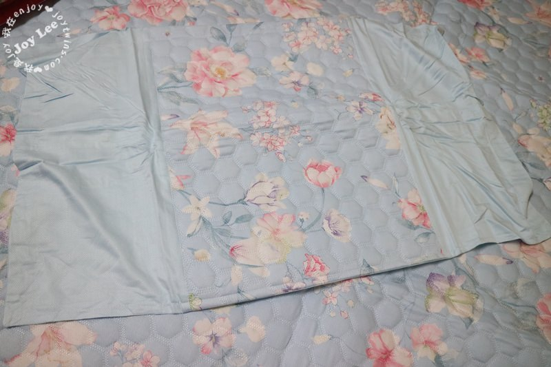 【HOYACASA沁夏涼感】雙人竹纖維空調軟蓆枕套 (9)