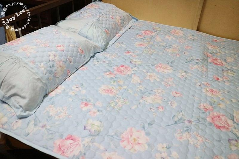 【HOYACASA沁夏涼感】雙人竹纖維空調軟蓆枕套 (12)