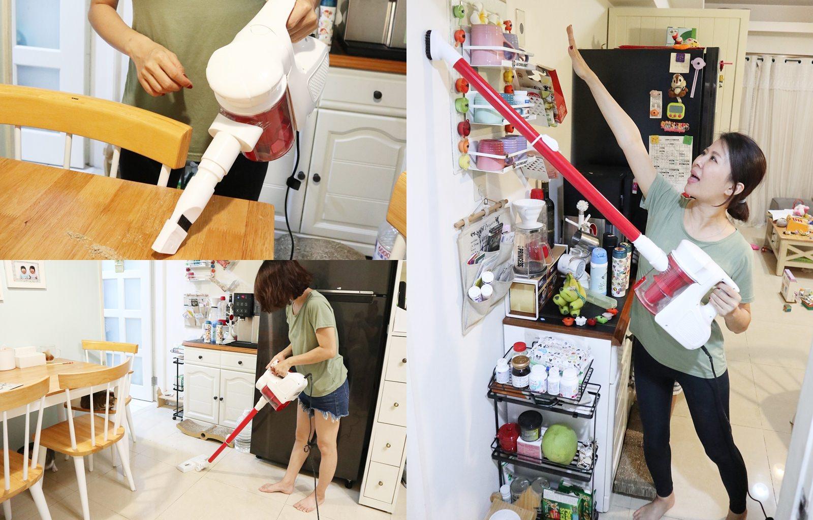 【家電】韓國【HEUM】旋風式手提吸塵器 生活中不能缺少的清潔好物 小資族輕鬆入手