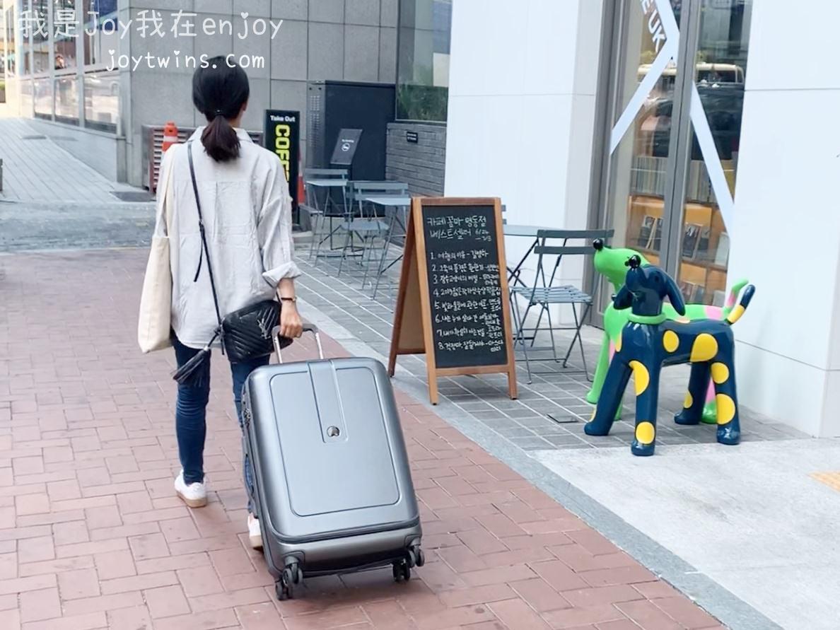 DELSEY GRENELLE系列行李箱 一九分掀蓋的行李箱 空間超大超好裝 法式美學經典呈現