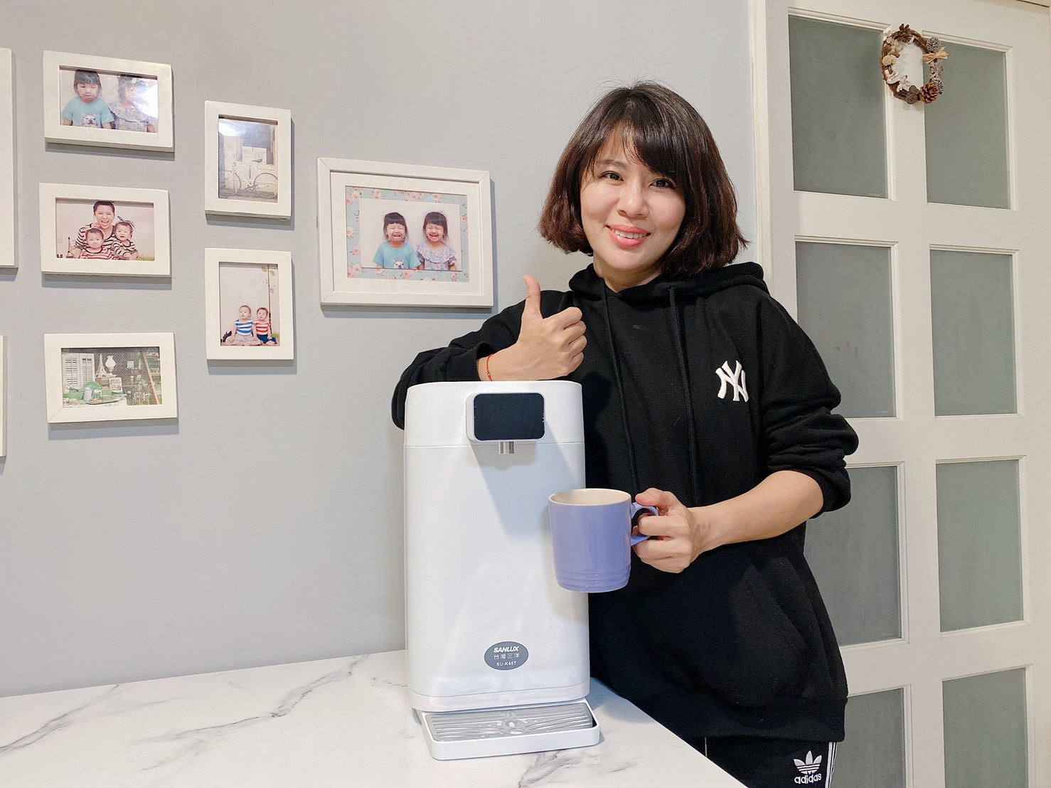 【SANLUX 台灣三洋】4.5L八段溫控電熱水瓶 最懂溫度最懂你的心!