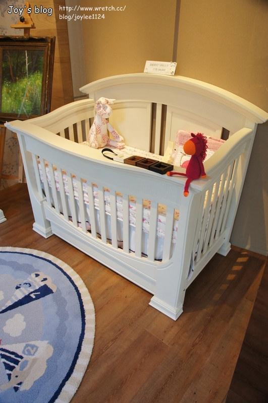 [體驗]一輩子都能睡的好床~LEVANA美式四合一嬰兒成長床