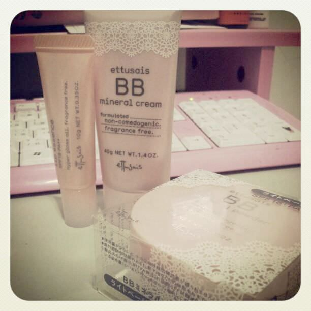 [Make up]真的燒透我的艾杜紗高機能礦物BB霜、BB粉還有護唇精華液與林三益璀璨鑽石KABUKI刷具