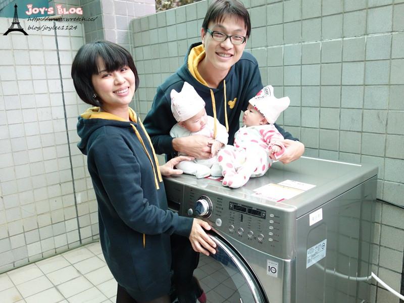 [體驗]聰明新手媽媽選聰明家電~LG滾筒洗衣機~洗衣服也是smart一把罩喔!