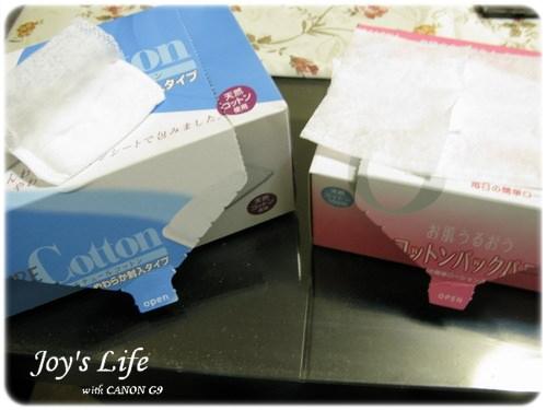 好用的兩款丸三化妝棉~6層超保濕化妝棉與ETURE化妝棉