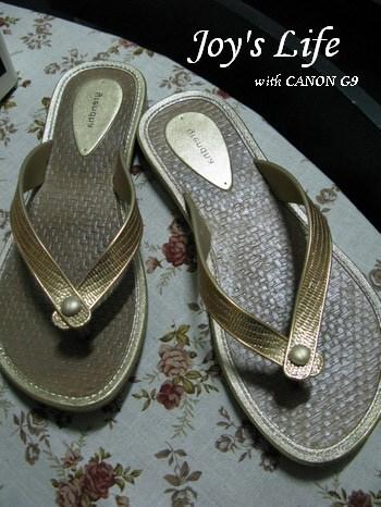 [新入荷]grendha金色性感休閒風仿編織夾腳拖鞋