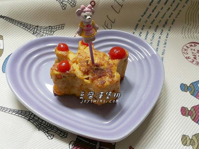 [幼兒食譜]簡單營養好吃的豆腐漢堡排~口感清爽又熱量減半喔!(煎/炸/氣炸鍋皆可)/內含超好吃蜂蜜芥末醬比例