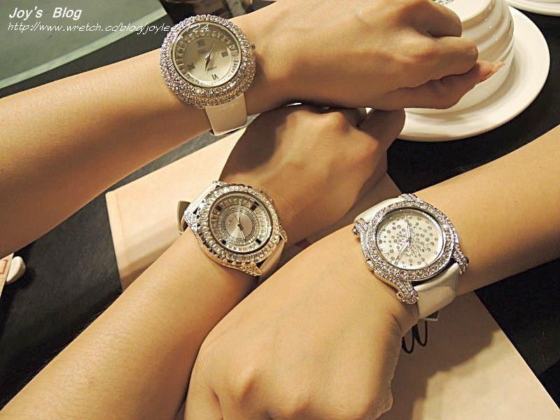 [敗物]女人一定要有的Bling Bling鑽錶~ Melissa