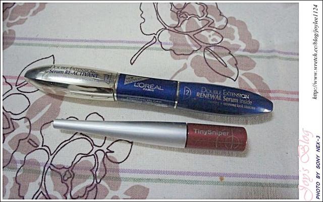 [Make up]最近愛用的兩款溫水可卸睫毛膏!(巴黎萊雅 & Fiberwig)