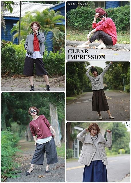 [穿搭]CLEAR IMPRESSION~秋冬新款讓人無法招架!時尚迷人百分百!!殺紅眼了呀!