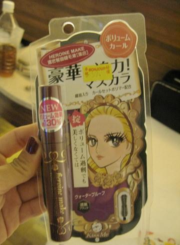[新玩具]Kiss Me 凡爾賽玫瑰豪華超纖長濃密防水睫毛膏130%