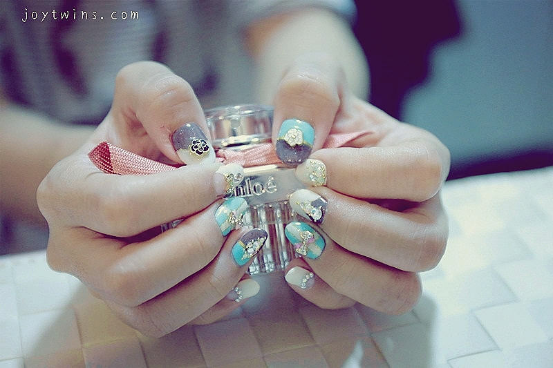 [Nail]光療設計款~Tiffany藍婚禮小物奢華幸福感在指尖!