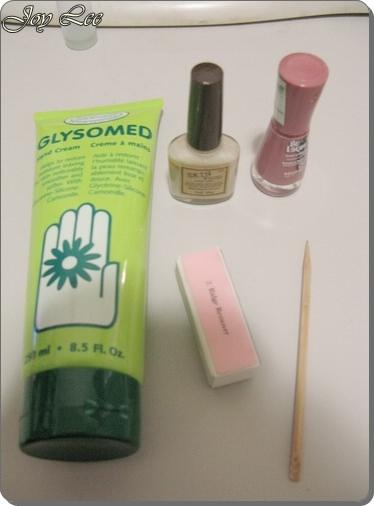自己也可以做指甲沙龍保養與簡單法式指甲技巧