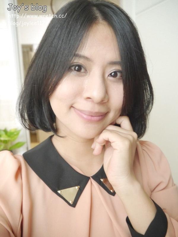 [變髮]完成了夢想中的韓系中分C型短髮造型~我要做時髦的媽媽