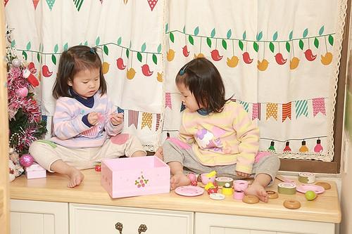 [居家改造]儲藏室變身明亮鄉村風格的兒童房養成計畫完成囉!