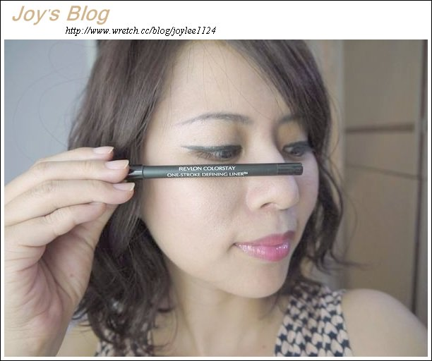 [Make up]露華濃超顯色防水眼線筆~難得三色都下手