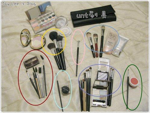 [彩妝]我的刷具大集合+新入手unt五入一組便宜好用刷具